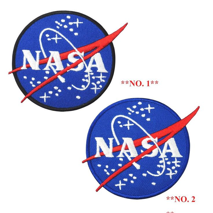 NASA Agency Space Program Logo Embroidered Iron on Patch