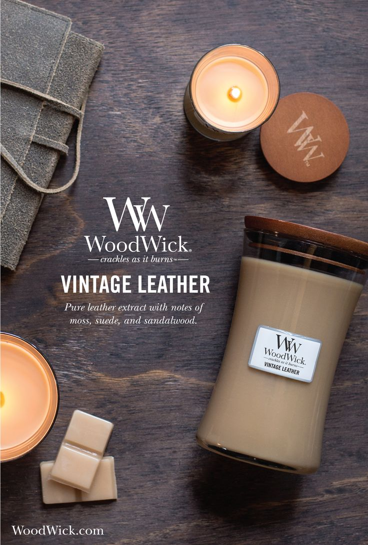 VINTAGE LEATHER: Pure leather extract combined with moss, suede, and sandalwood…