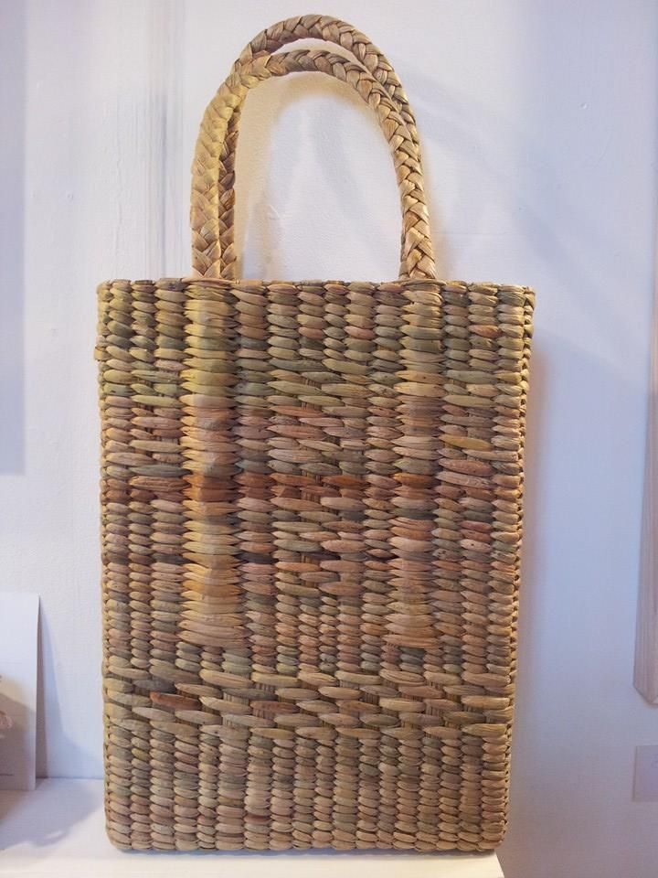 Rush basketry by Jane Bradley, Cumbria