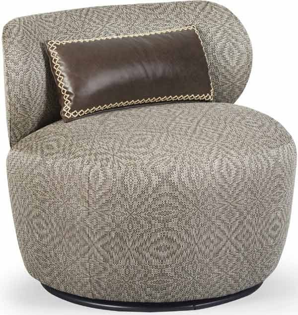 ART Furniture - Epicenters Austin Gray Margot Swivel Chair - 535516-5001AA