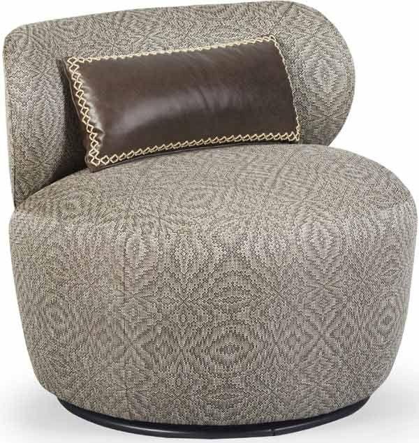 ART Furniture - Epicenters Austin Gray Margot Swivel Chair - 535516-5001AA