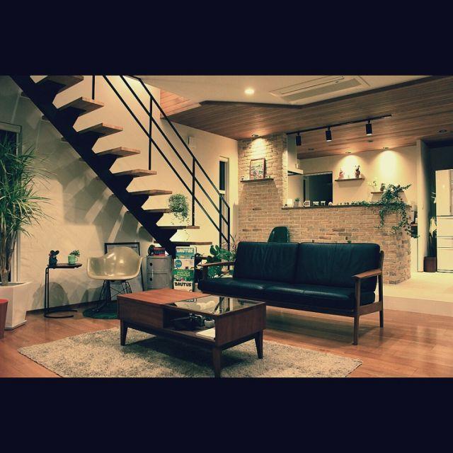 リサラーソン/ベアブリック/コンポニビリ/無印良品/ファイヤーキング/リビング階段…などのインテリア実例 - 2015-03-14 10:27:01 | RoomClip(ルームクリップ)
