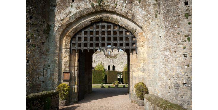 les plus beaux Châteaux hantés pour Halloween Château Amberley Angleterre