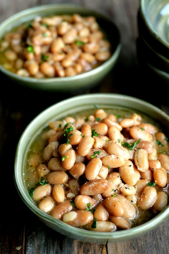 Slow Cooker Mexican Beans are an amazing side dish or they are perfect on their own