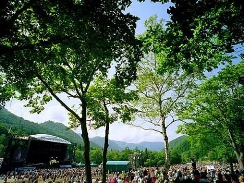 Fuji Rock Festival, Japan