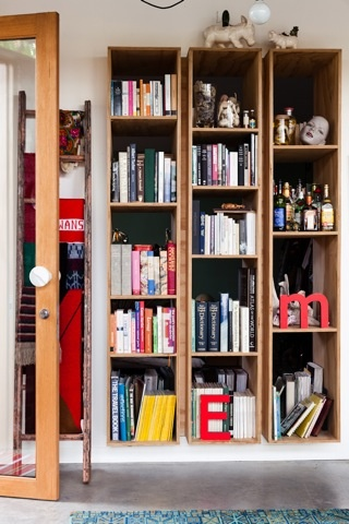 Bookshelves - nest architects / Florence Street