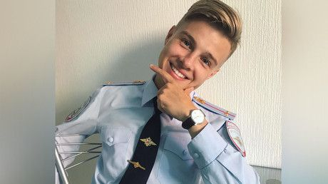 'Please, arrest me!' Heartthrob St. Pete cop patrolling Instagram beat (PHOTOS) https://tmbw.news/please-arrest-me-heartthrob-st-pete-cop-patrolling-instagram-beat-photos  The image of Russian police has obviously improved, with a handsome officer in St. Petersburg melting women's hearts and gaining nationwide popularity. The 23-year-old cop was even offered a job at a major TV channel.A young policeman from St. Petersburg, Roman, looks more like a celebrity or a model, with his Instagram…