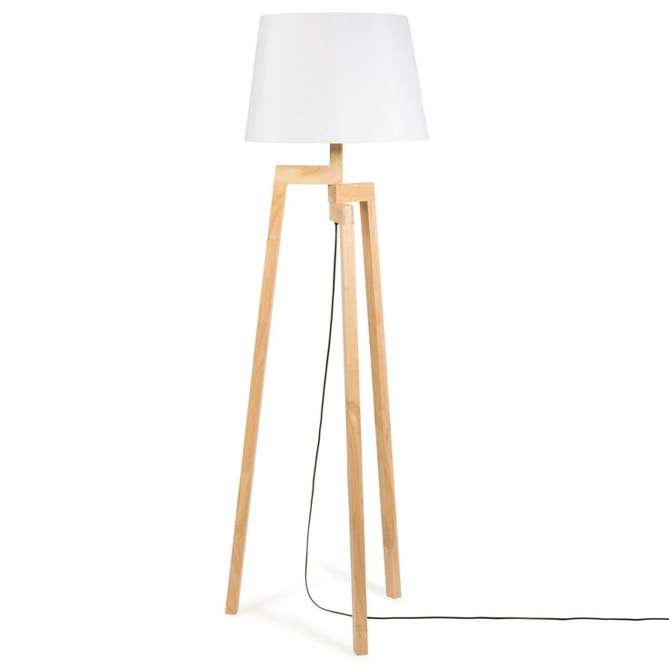 best 25 wooden tripod floor lamp ideas on pinterest. Black Bedroom Furniture Sets. Home Design Ideas