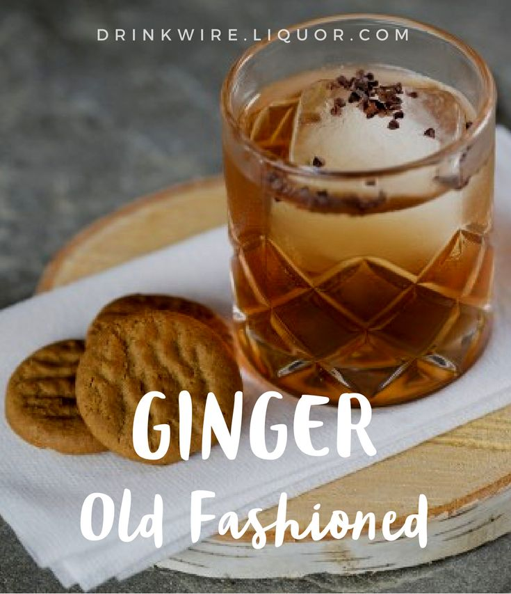 The subtle #gingerbread flavors complement the high rye and spice content in the #bourbon, making for great sipping on the slopes! It's the perfect whiskey #cocktail to get you through the holiday season.
