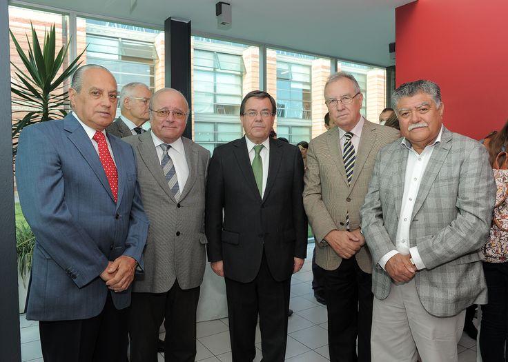 Hernán Sotomayor, Waldo Martínez, Víctor Lobos, Mario Seguel, Audito Retamal.