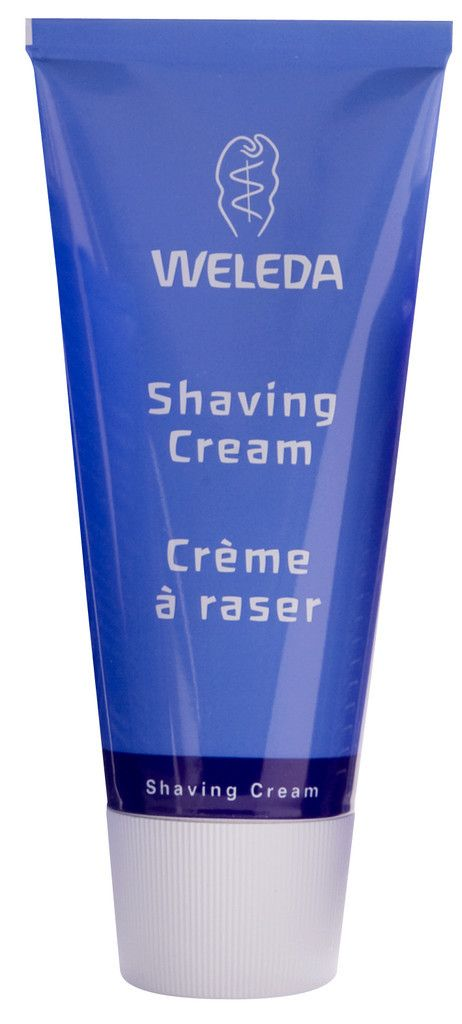 Weleda Shave Cream - rich and creamy, toxic free and 100% natural. The plant extract Viola Tricolor tones and soothes skin while Goat's milk and Almond milk help keep it smooth and supple. It is suitable for all skin types, including sensitive skin, and is an excellent smooth cream for shaving legs for women. from peachyclean.com.au