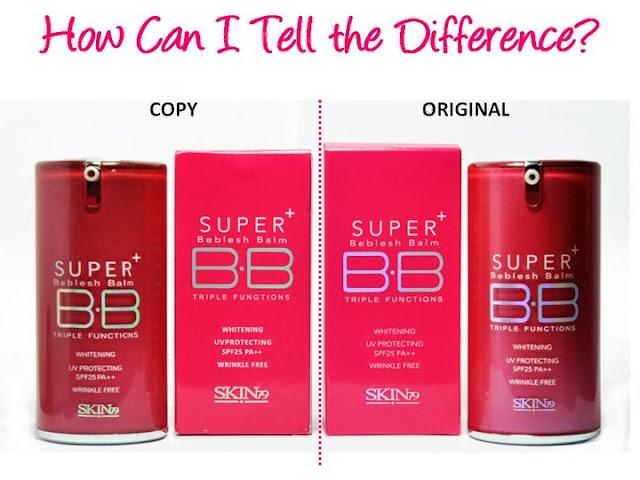 How To Spot FAKE Skin79 BB Creams
