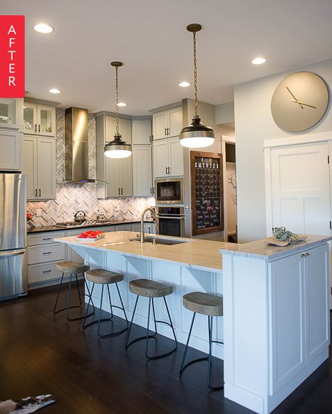 Before & After: A Kitchen Goes Light And Bright, One