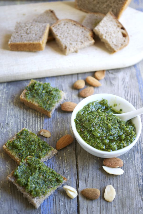 Pesto d'ail des ours #vegan   Green Cuisine