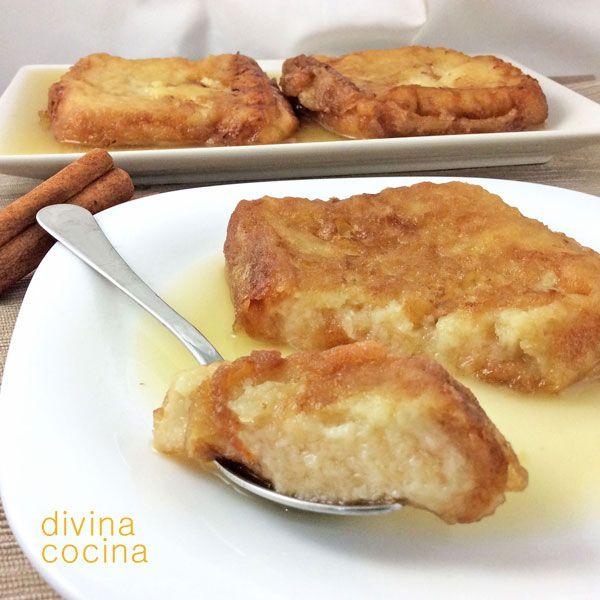 En estas recetas de torrijas de leche los tiempos dependen de la consistencia del pan y de lo seco que esté. El pan especial de torrija aguanta muy bien pero hay panes que se deshacen rápidamente y basta con mojarlos un momento en la leche.