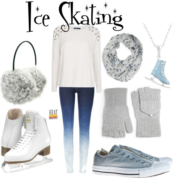 """""""Going Ice Skating"""" by olivia-ingersoll on Polyvore"""