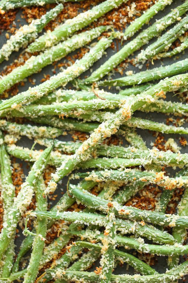 Baked Green Bean Fries | 21 Easy, Healthy Snacks For When You're Trying To Lose Weight - BuzzFeed News