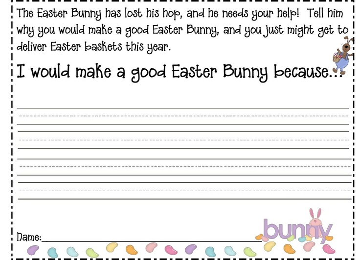 if i were the easter bunny pdf