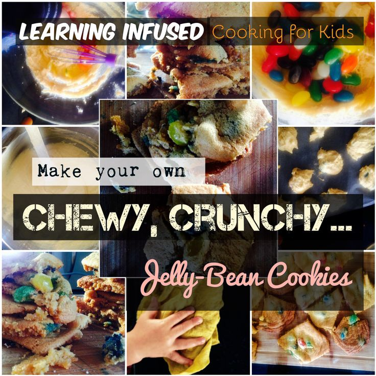 These jelly bean cookies are the most delicious thing I have ever eaten. We were…