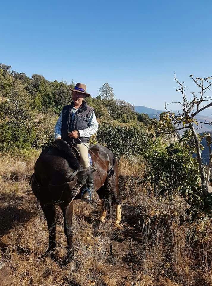 Enjoy the Soul-reviving adventure of horseback riding in the historic Kaapsehoop - home of the wild horses, mountains and forests with professional guides Leon Smith and Mariska Redelinghuys... Welcome to Extreme Frontiers - Our website is http://gerhard53.wixsite.com/extreme-frontiers