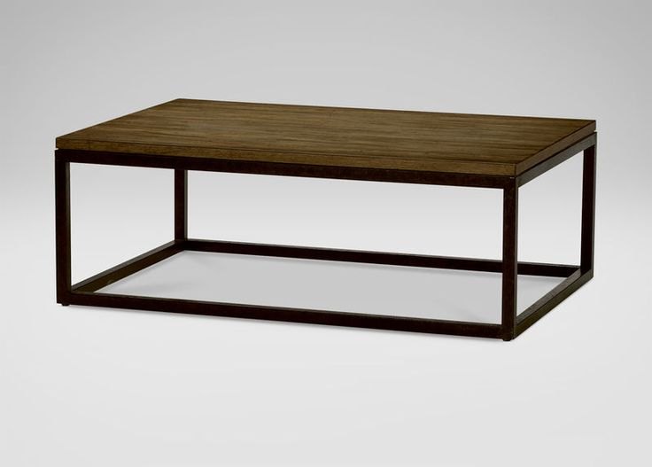Ethan Allen   Meyer Large Coffee Table