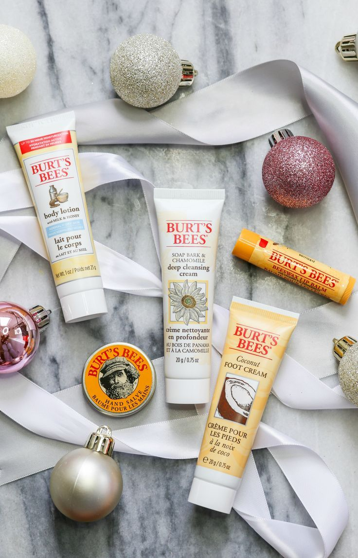 Looking for the best Christmas gift idea under $10? Everyone on your holiday shopping list will LOVE this gift set from Burt's Bees at Walmart because it contains five travel-size versions of their popular products! | #NaturallyGifted #ad | Orlando, Florida beauty blogger Ashley Brooke Nicholas | holiday gifts, drugstore beauty products, best drugstore beauty products, affordable gift ideas, Christmas gift ideas under $10, stocking stuffers, stocking stuffer idea for women, Christmas gift…
