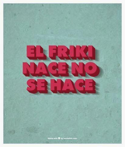 Se celebró el Día del Orgullo Friki ¡felicidades a todos los frikis de corazón! #friki