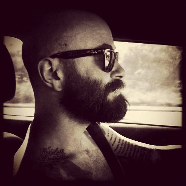 Mr. Derek Woods follow on instagram @_derekwoods plus i mean look at his beard. dudes awesome