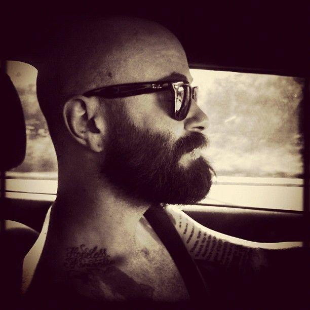 160 best images about bald beard man on pinterest best style no shav. Black Bedroom Furniture Sets. Home Design Ideas