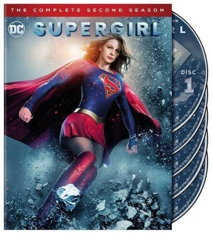 Supergirl: The Complete Second Season 2 (DVD 2017 5-Disc Set) US RELEASE NEW