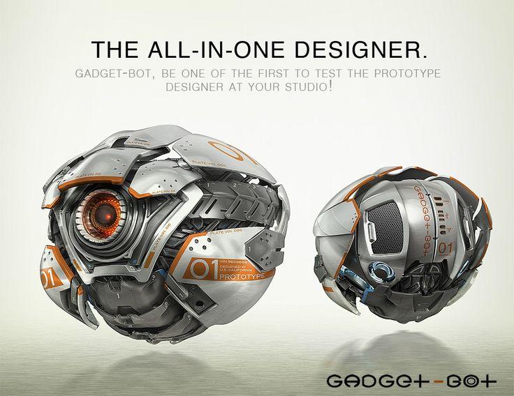 robot science fiction concept - photo #39