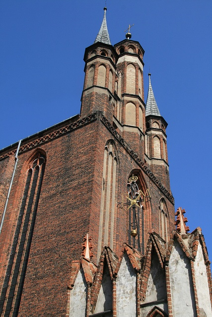 Church of St. Mary    		Toruń, Poland.