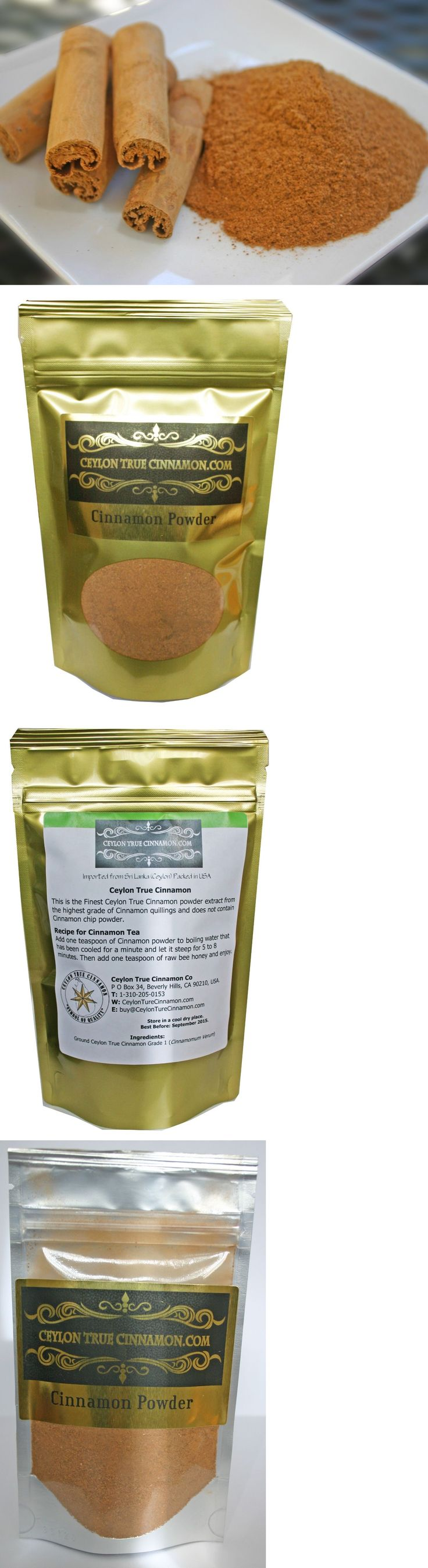 Spices Seasonings and Extracts 14314: Ceylon True Cinnamon Powder 1-2-4-8-16Oz And 2Lbs - 5Lbs - Organically Grown -> BUY IT NOW ONLY: $74.95 on eBay!