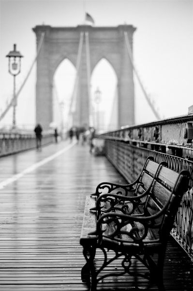Classic Brooklyn Bridge New York City NYC