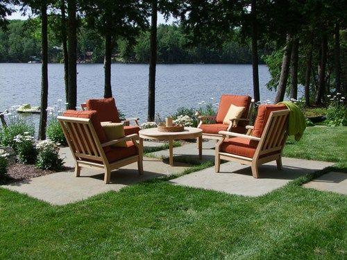 Garden Ideas Patio 124 best lakeside landscapes images on pinterest | outdoor living