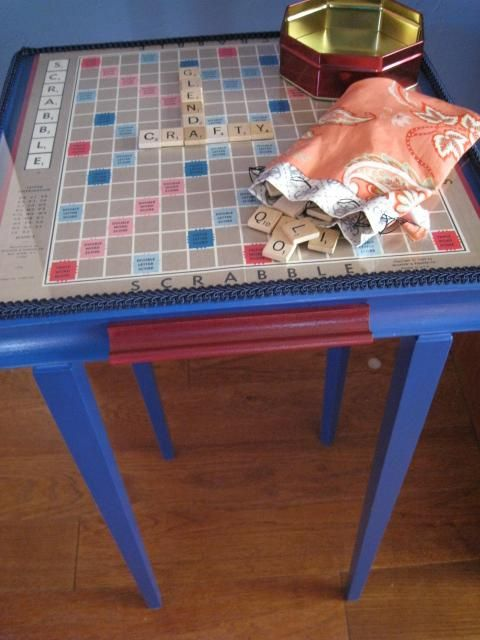 Scrabble Table   Flickr - Photo Sharing!