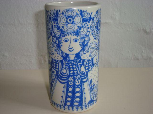 "BJØRN WIINBLAD ""Flora"" vase 1970s. #Wiinblad #Flora #vase #vas. From www.TRENDYenser.com. SOLGT."