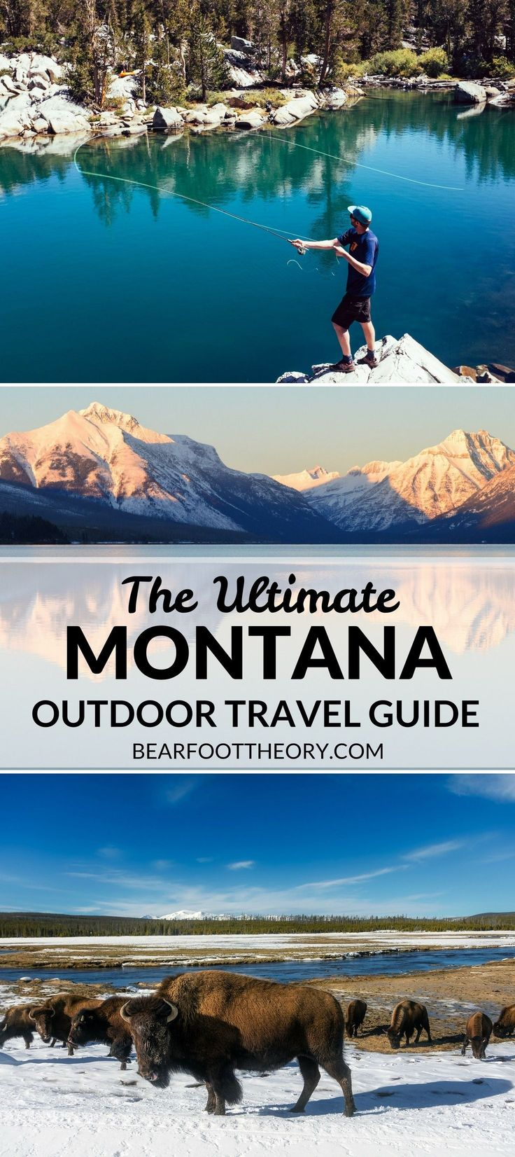 Plan an adventurous trip to Montana with our outdoor travel guide featuring the best outdoor activities, destinations & most popular Montana blog posts #OutdoorDestination