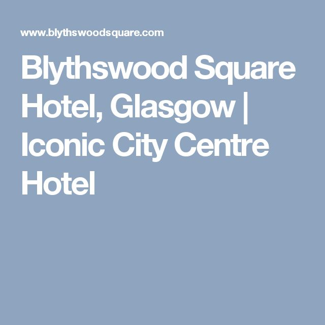 Blythswood Square Hotel, Glasgow | Iconic City Centre Hotel