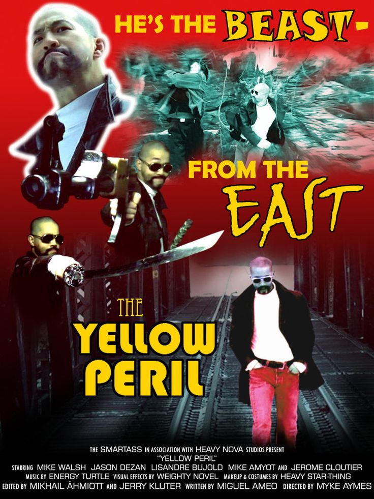 The YELLOW PERIL by Psychorror on DeviantArt