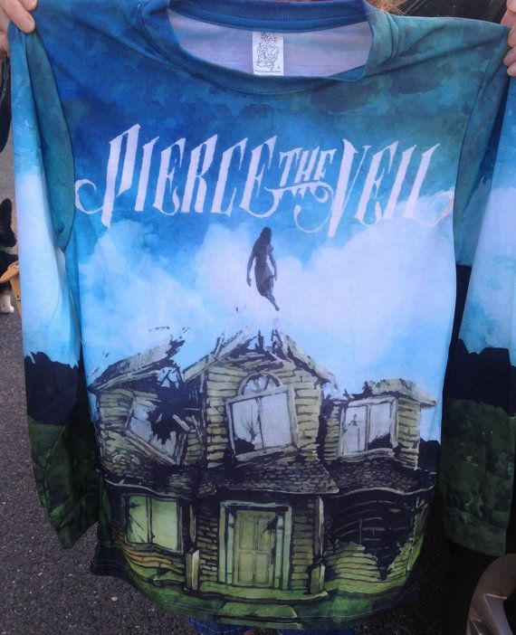 Pierce the Veil's Collide with the Sky Unisex Crewneck Longsleeve tee on Etsy, $34.99 | GIVE ME IIIT NOW!