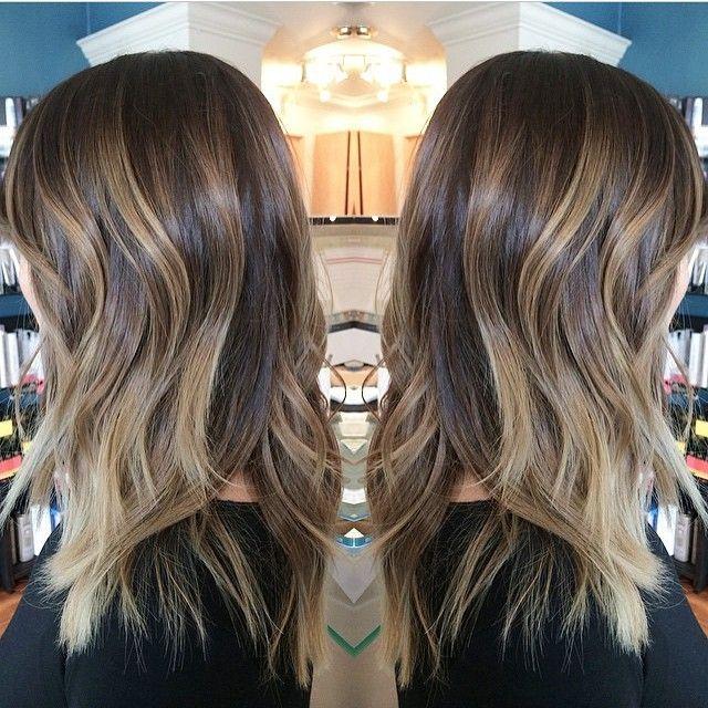 balayage highlights light brown hair - Google Search