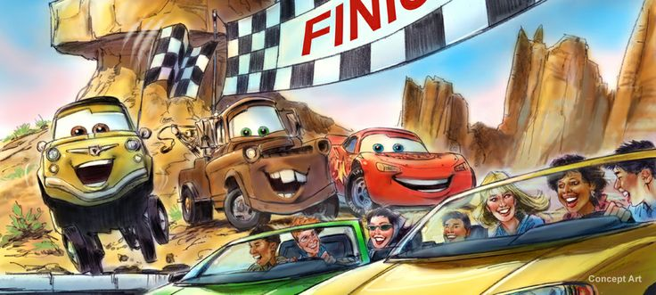 We haven't been yet, but I can pretty much guarantee that Cars Land will be one of our Favorite Places for years to come