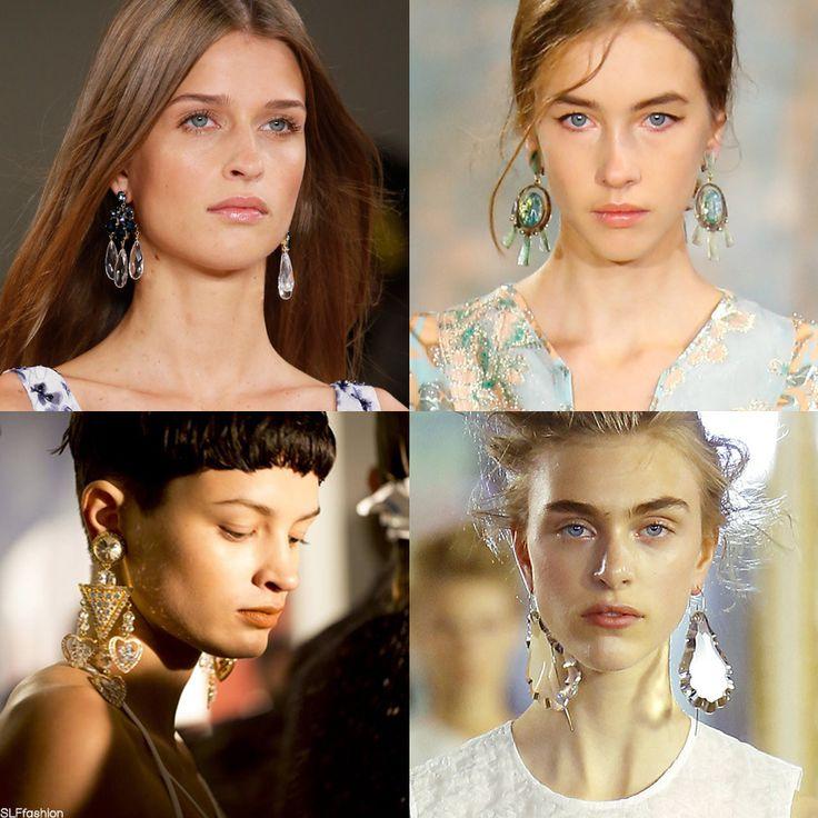 Trendy Jewelry style for SS16: Statement chandelier earrings ...