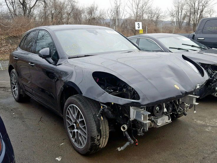 Salvage 2018 Porsche Macan Turbo Suv For Sale Salvage