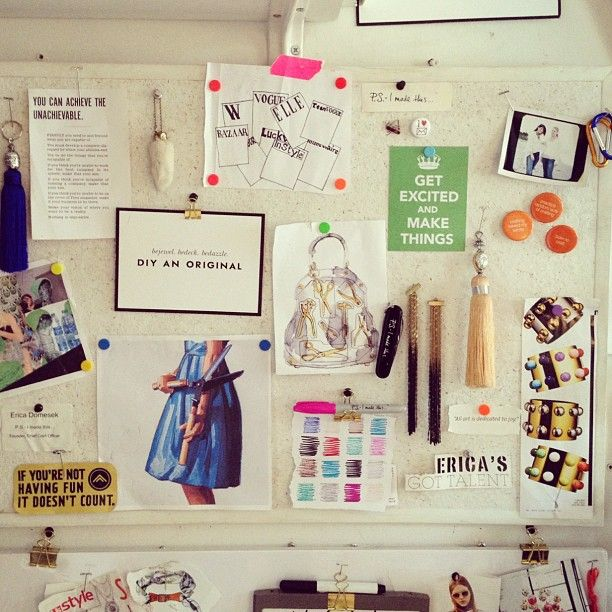 The P.S. Inspiration board