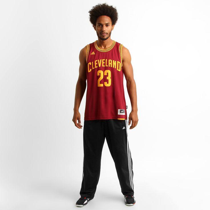 Camiseta Regata Adidas Swingman Cleveland Cavaliers Vinho | Netshoes