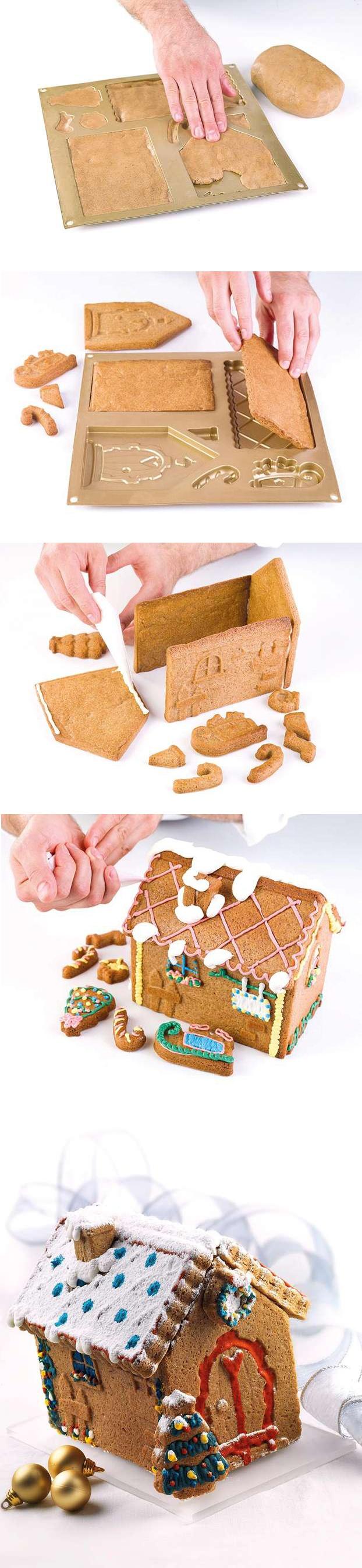 Casa Pan di zenzero: Luca Montersino ci illustra la preparazione di una casetta di pan di zenzero!! http://www.alice.tv/ricette-natale/casetta-pan-zenzero-montersino