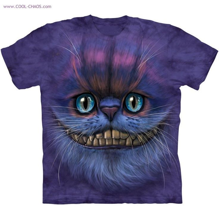 Cheshire Cat Tie Dye T-Shirt / Purple Cat Tee! Hand-dyed with amazing purple Cheshire Cat! 100% pre-shrunk cotton, roomy, heavy-weight, quality tee! COOL, UNIQUE, HILARIOUS TEE! CHOOSE YOUR COOL SIZE ABOVE! | eBay!