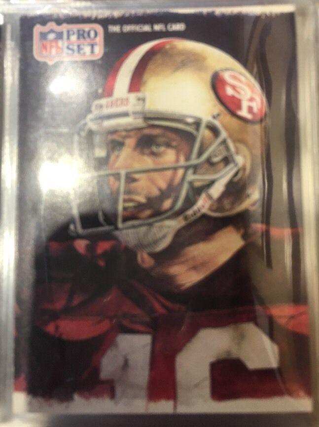 1991 Pro Set All NFC Team Joe Montana 387 49ers Near Mint Combined s H | eBay